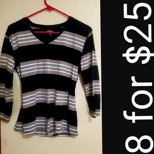 Long sleeve Striped great northwest top